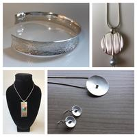 Jewellery designed and made by myself including some commissioned pieces