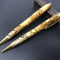 Spalted Sycamore pen & pencil set