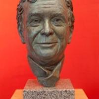 Commissioned for The University of Edinburgh, Bronze bust of former Principal and Vice-Chancellor Prof. Sir Tim O'Shea