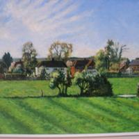 Harborough Magna Rugby, painted from life