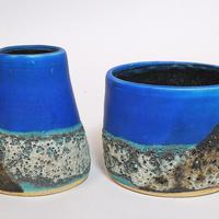"""Volcano"" thrown vessels"
