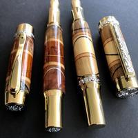 Australian Exotic Hardwood fountain pens