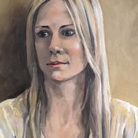 Eve, GP from York. A commissioned portrait for #portraitsfornhsheroes