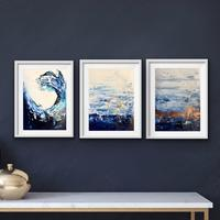 The wave, Gold Circle, Horizon - all part of the Classic Blue series