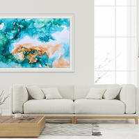 Life's a Beach - Abstract painting by Silvia Boev