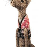 Needle Felted Hare as Featured in Country Living Magazine March 2020