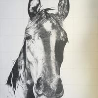 Stanley, pencil 76cm x 56cm, framed £300, unframed £150