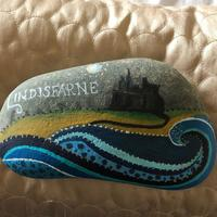 lockdown pebble painting  - beautiful paper weights -look a my facebook page for more designs price £10 to £30