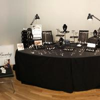 My stand at a recent exhibition - Sue Barclay Design Jewellery