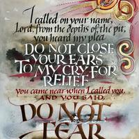'Do Not Fear' from the book of Lamentations