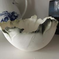 small copper edged porcelain bowl £40
