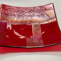Patchwork Lustre - Red