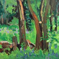 Trees. Oil on Canvas. 30cm x 30 cm