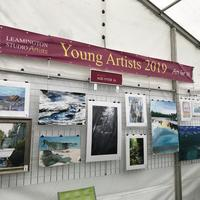 The 2019 Young Artists competition exhibition at Art in the Park
