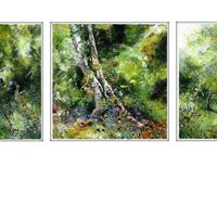 Kenilworth Common Triptych