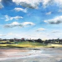 Low tide on the River Alde - oil and acrylic on canvas 50cm by 70cm unframed, £480