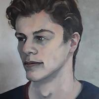 Commissioned portrait 2020, oil on canvas