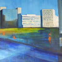 Coventry as you've never seen it before! Acrylics