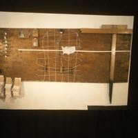Study of information and data storage and display, low sculptural drawing.