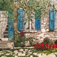 'The Beauty of Provence', measuring 30cms x 24cms.