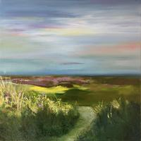 Saltmarshes, Oil painting, 2019