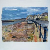 Sidmouth, Mixed Media and Collage