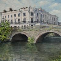 Victoria Bridge And Terrace, Leamington Spa