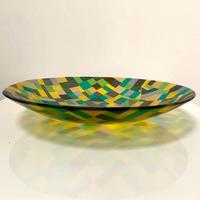 Enclosures - From Above - Fused glass bowl
