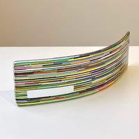 Interference Rainbow - Fused glass light catcher