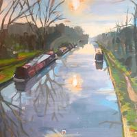 The canal from the Navigation Inn