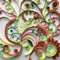 """Paper Quilling """" Some like it hot! """""""