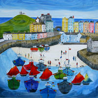 The Tenby Experience 4 LEP. Size 59cm x 59cm. Price £127