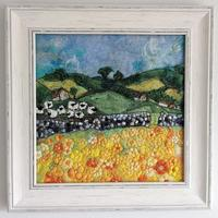 Settle Landscape ( commission) - felt and embroidery
