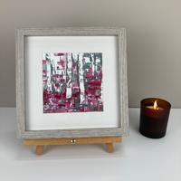 Framed Print- Early Summer Birches