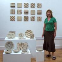 Me and some of my ceramics