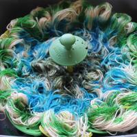 Experimenting with dyeing a yarn 'megaskein'