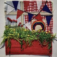 VE Day 2020: embroidered textiles picture
