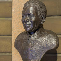 Portrait of Nelson Mandela for Glasgow City Chambers