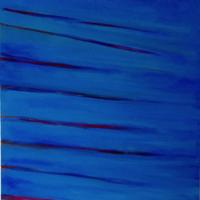 Fast Blue - 122 x 91 cm - £800 - oil/canvas