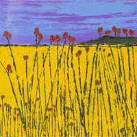 Field of Sunshine. Acrylic on Board £175