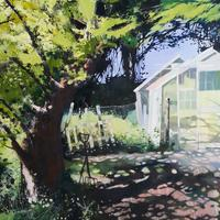 """""""Mrs Pittaway's Garden"""".  Oil Painting Commission"""