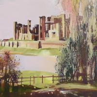 """Flood of Colour"". Oil painting £285.  Framed prints £150"