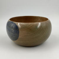 Keeping it Simple with a Limed Purple Spot Elm Bowl (Circa £35.00)