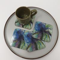 Set of 4 x coasters £15.00 plus p and p
