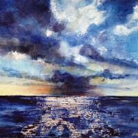 Gathering Storm - oil on canvas - 320 x 250
