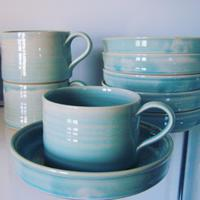 French breakfast cups and saucers     POA