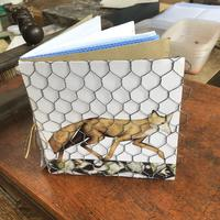 Artists book 'fox and hens'