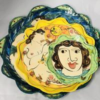 Karen Atherley - collection of plates