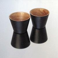 A pair of Lacquered cups