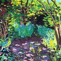My Garden is Full of Life. Oil on Canvas 80cm x 60cm